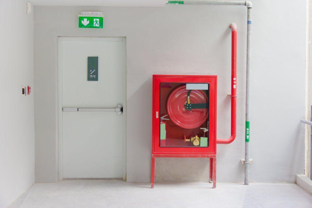 Hydranty i drzwi ppoż